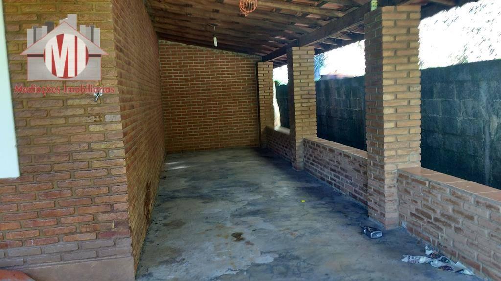 chácara com escritura, 03 dormitórios à venda, 1500 m² por r$ 290.000 - rural - socorro/sp - ch0054