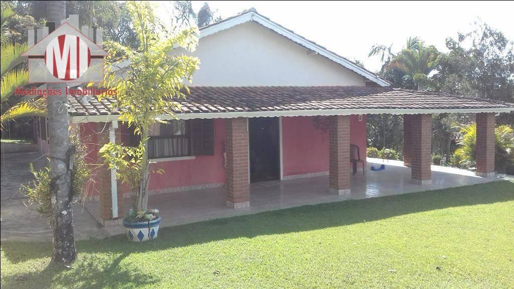 chácara com escritura, 03 dormitórios à venda, 2000 m² por r$ 425.000 - rural - socorro/sp - ch0317