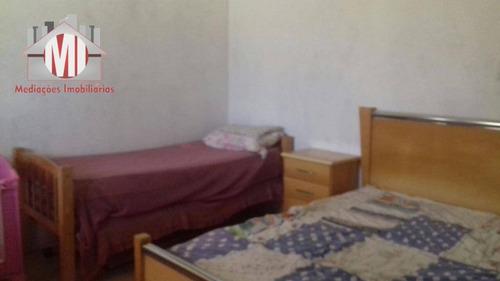 chácara com escritura, 06 dormitórios à venda, 9100 m² por r$ 495.000 - zona rural - pinhalzinho/sp - ch0057