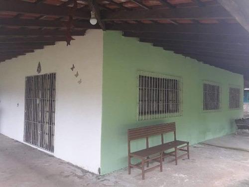 chácara com escritura e 4 dorm. em itanhaém-sp - ref 1860-p