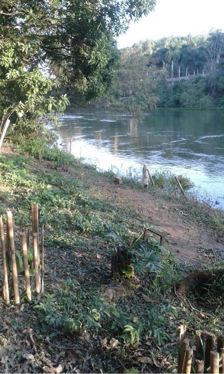 chácara com fundos para o rio paraíba - santa branca - sp - 1925