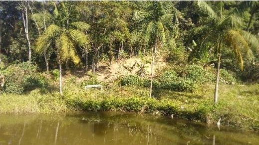 chácara com lago casa simples área 30.068 m² juquitiba