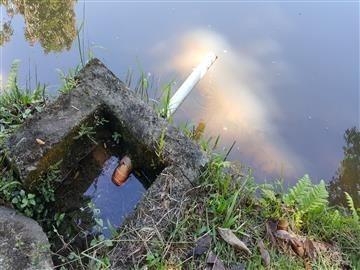 chácara com lago em atibaia.