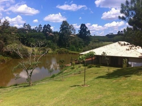 chácara com lago  em condomínio joaquim egidio - ch0039