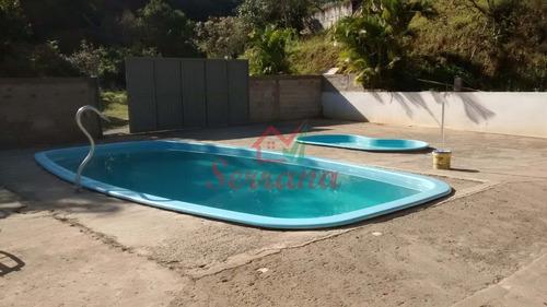 chácara com linda casa 2 piscina e lago