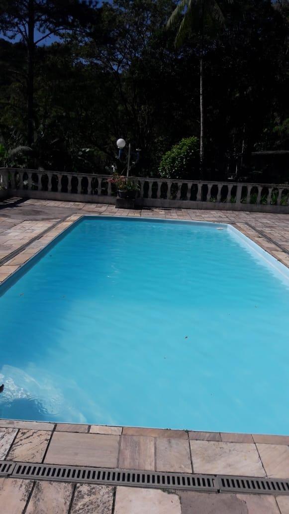 chácara com piscina 2 lagos com peixes e pomar 4 mil metros