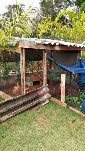 chácara com piscina de fácil acesso em juquitiba