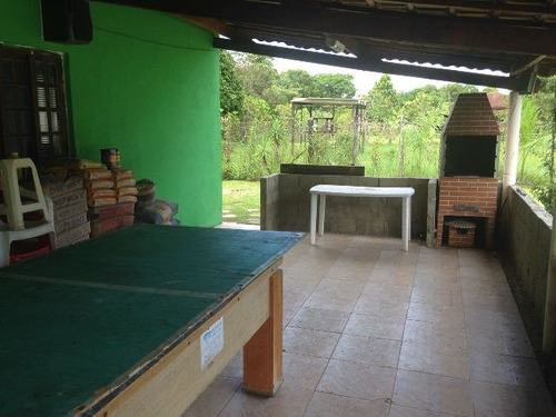 chácara com piscina e 4 quartos em itanhaém-sp - ref 2614-p