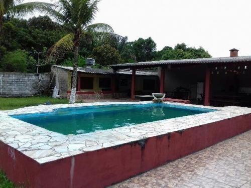 chácara com piscina e 6 suítes, itanhaém-sp! ref 4139-p