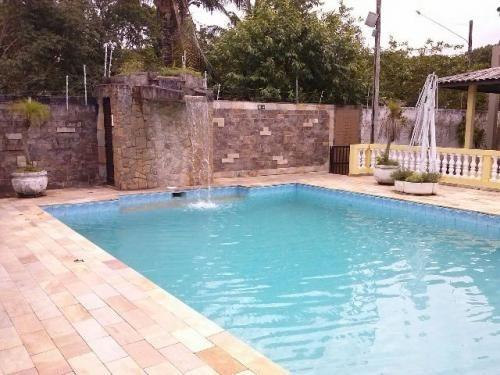 chácara com piscina e belo acabamento em itanhaém! ref 1563p