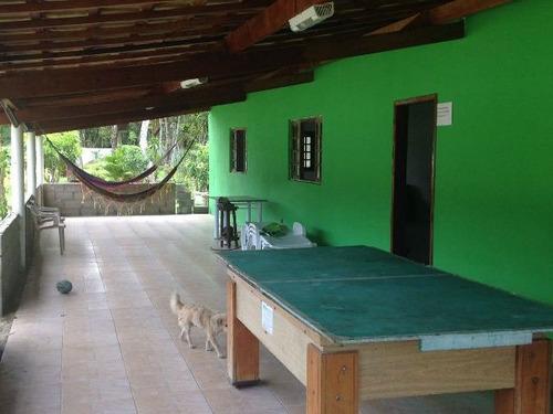 chácara com piscina e escritura em itanhaém-sp - ref 2614-p