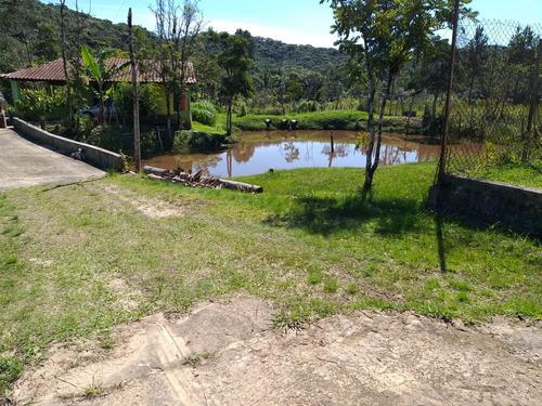 chácara com piscina e lago com peixes pomar 21.300 m²
