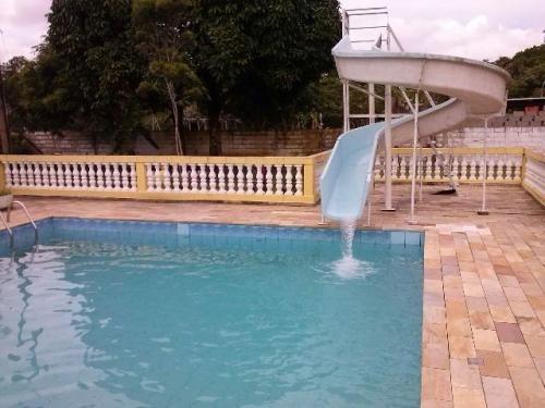 chácara com piscina e ótimo acabamento - ref 1563-p