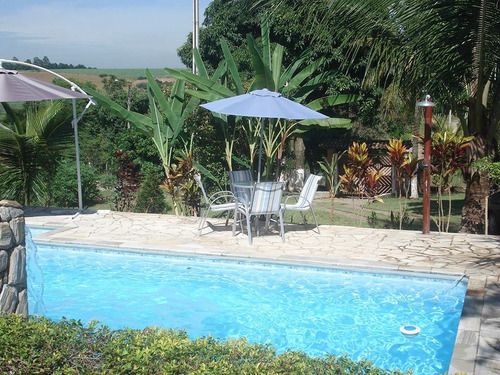 chácara com piscina em bela vista. 434