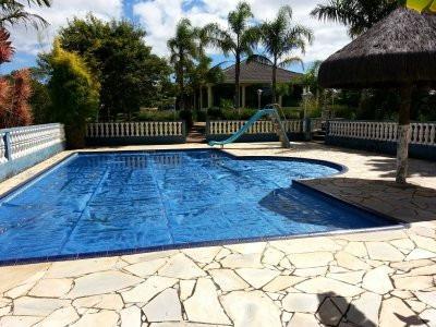 chácara com piscina em ibiúna! escritura.