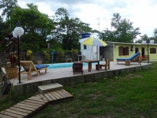 chácara com piscina em itanhaém/sp