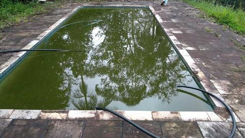 chácara com piscina em juquitiba