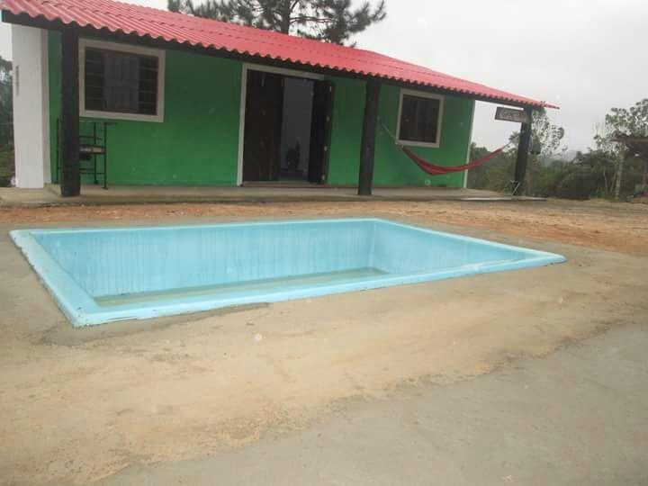 chácara com piscina em juquitiba -aceita auto