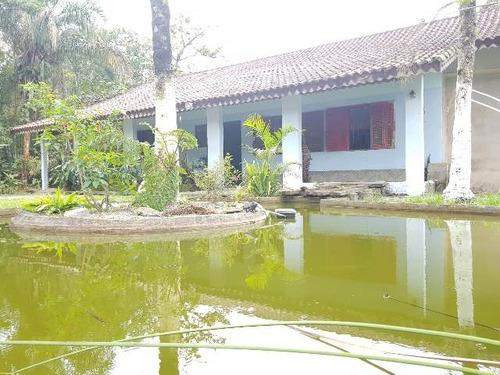 chácara com piscina, escritura e 3 quartos - ref 4728-p
