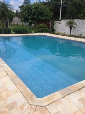 chácara com piscina na praia, 4 dorm, 2400m², escriturada!