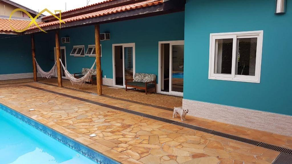 chacara com piscina no patropi paulinia - ch0092