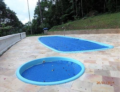 chácara com piscina ótima casa em juquitiba