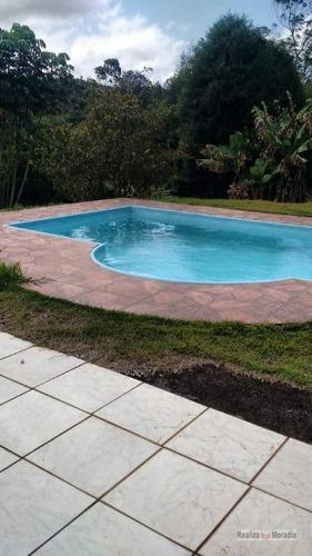 chácara com piscina -   verava - ibiúna. - ch0027