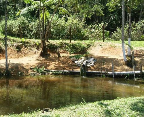 chácara de fácil acesso em juquitiba lago e nascente