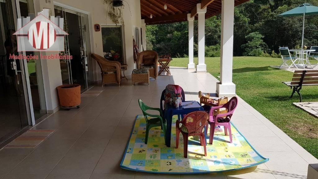 chácara deslumbrante em condomínio de alto padrão à venda, 2400 m² por r$ 1.500.000 - condomínio jardim das palmeiras - bragança paulista/sp - ch0562