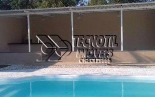 chacara documentada para financiar/com excelente salão de festas e piscina