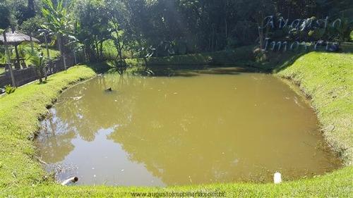 chácara em atibaia com lago nascentes aceito permuta até 50%