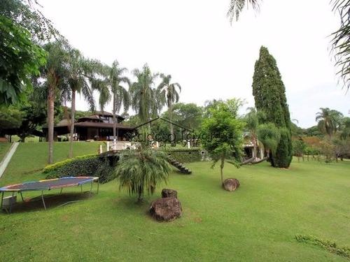 chácara em condomínio fechado em ibiúna ref: 831