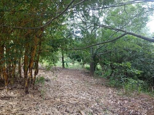chácara em condomínio rural - com lago - ch0084