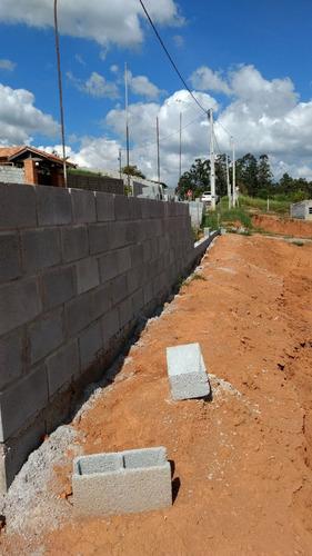 chacara em construção -atibaianos-bragança pta