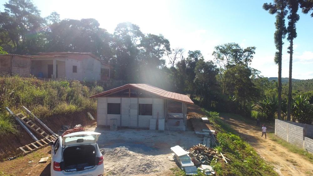 chácara em ibiúna em residencial fechado com lago