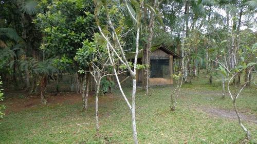 chácara em itanhaém, 3 dormitórios e piscina - ref 3967-p