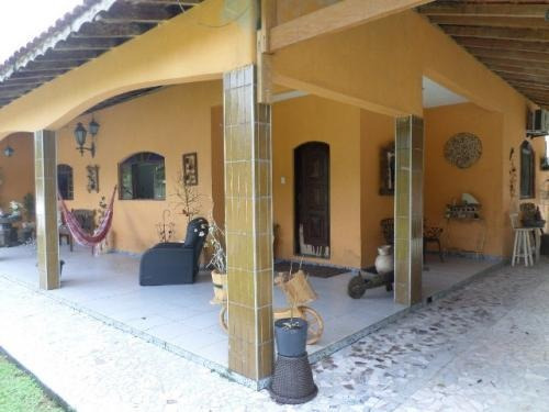 chácara em itanhaém, 3 dormitórios e piscina - ref 4208-p
