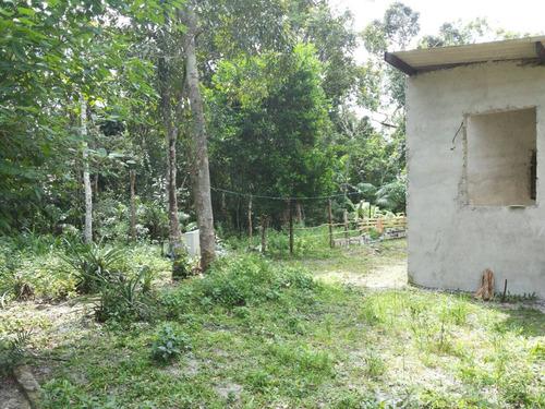 chácara em itanhaém, 500 m² e 1 dormitório - ref 2502-p