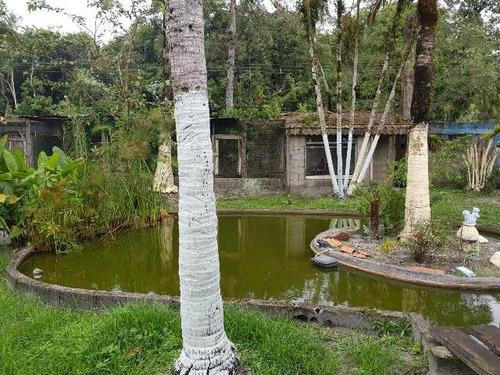 chácara em itanhaém, com escritura e piscina - ref 4728-p