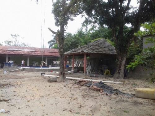 chácara em itanhaém, com piscina e 2 quartos - ref 3375-p