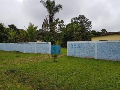 chácara em itanhaém com piscina e 2 quartos - ref 4500-p