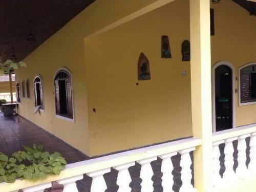 chácara em itanhaém com piscina e escritura - ref 1563-p
