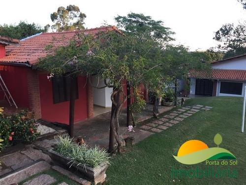 chácara em itu - condomínio fechado com 5 dormitórios  - 123