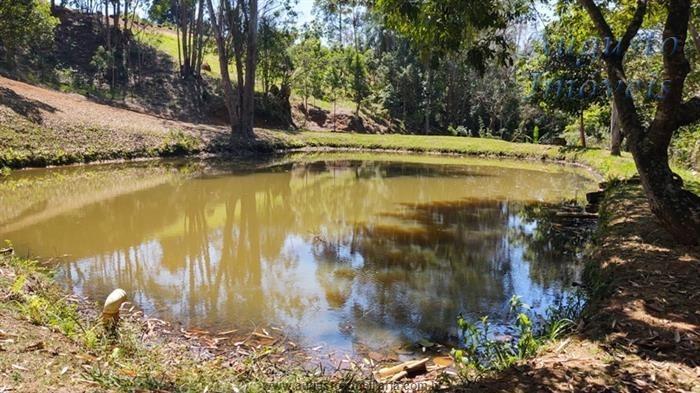 chácara em jarinu com terreno de 20.000mts com lago