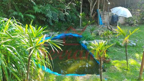 chácara em juquitiba 2 lagos e linda casa