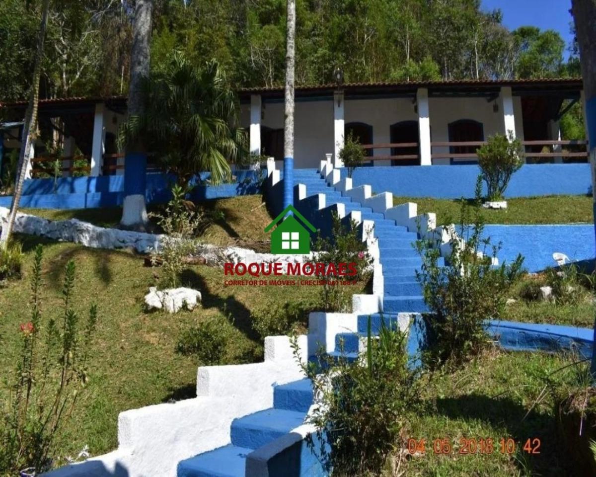 chácara em juquitiba 2 suítes, piscina e lago. ref 0032