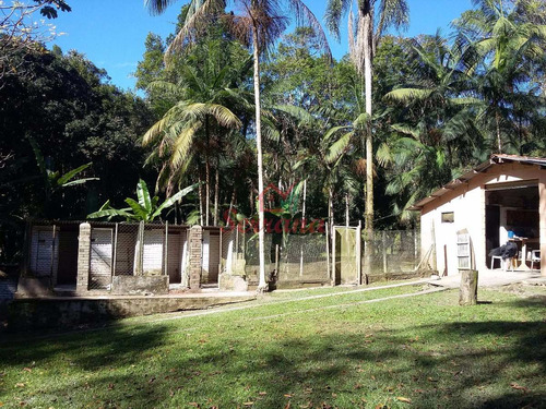 chácara em juquitiba 21.000 m² semi plaino na represa