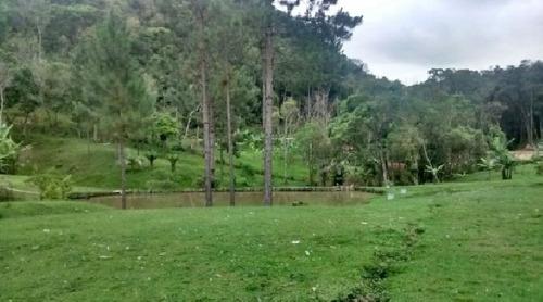 chácara em juquitiba 22.000 m² 2 lagos semi plaina