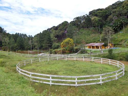 chácara em juquitiba 22.000 m² c 2 lagos e cocheira