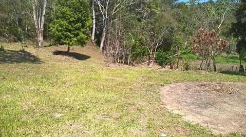 chácara em juquitiba área plaina com riacho